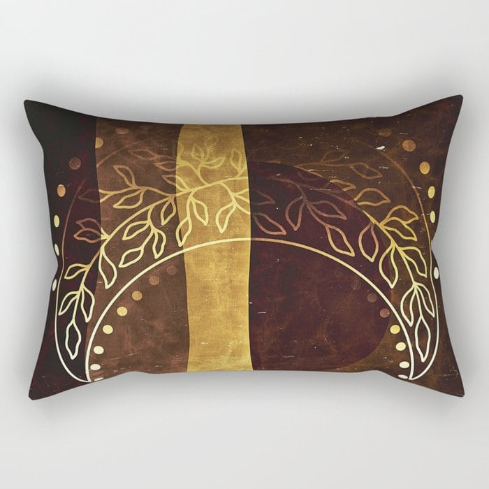 Tribal Fire Pattern Throw Blanket Designed by webgrrl