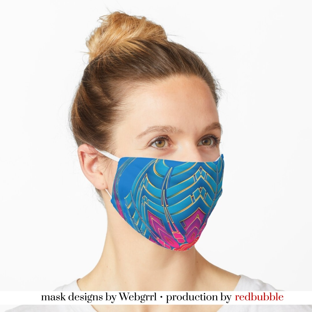 Shield circle Mask • Designed by webgrrl