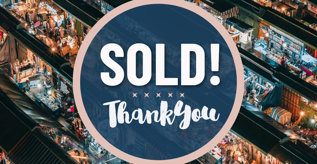 Art Sold! Thank You | April 2020