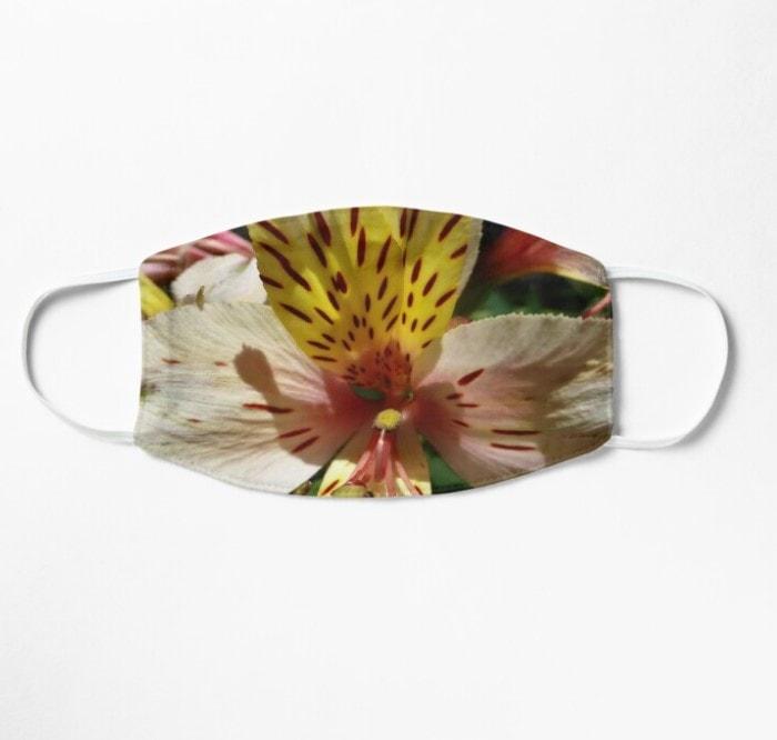 SOLD! Tigerlily Flower Mask Designed by webgrrl