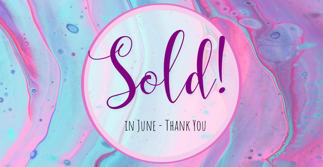 Art Sold! June 2020 – Thank You