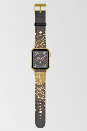 2 Earth Moon Mama V3 Apple Watch Band by Webgrrl