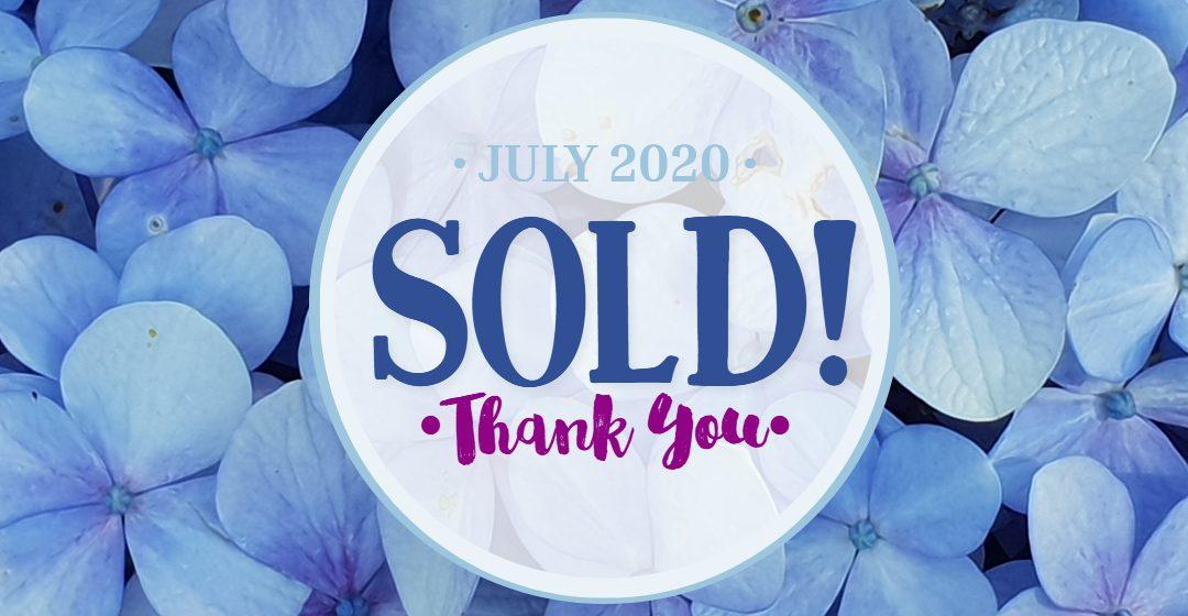 Art Sold July 2020
