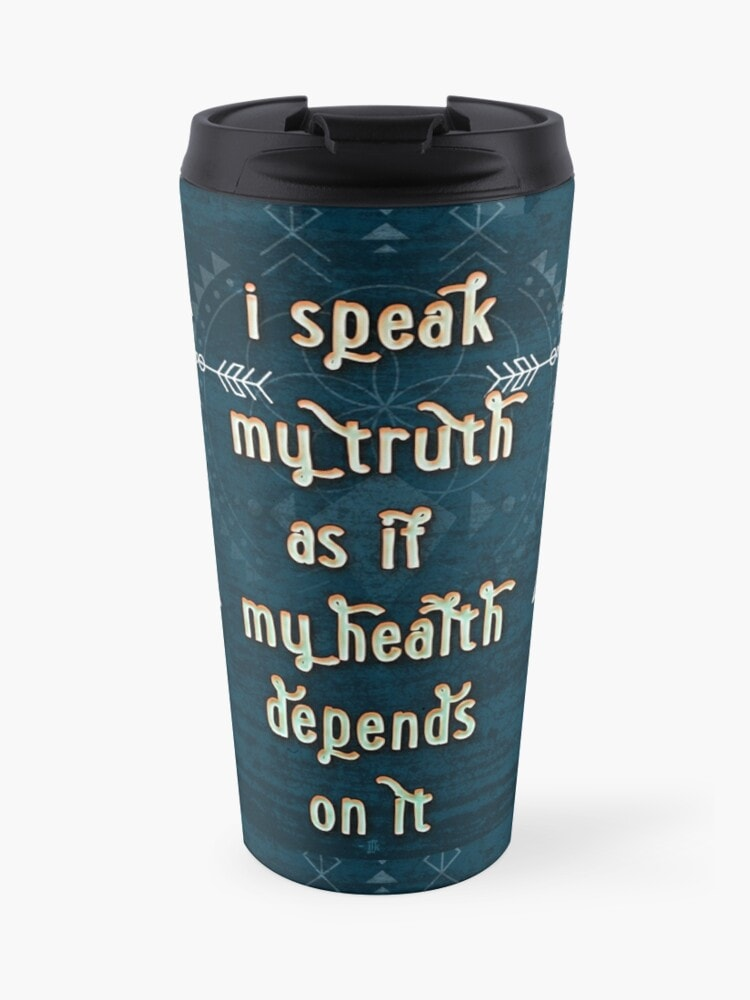 Speaking our truth - Quote - Affirmation