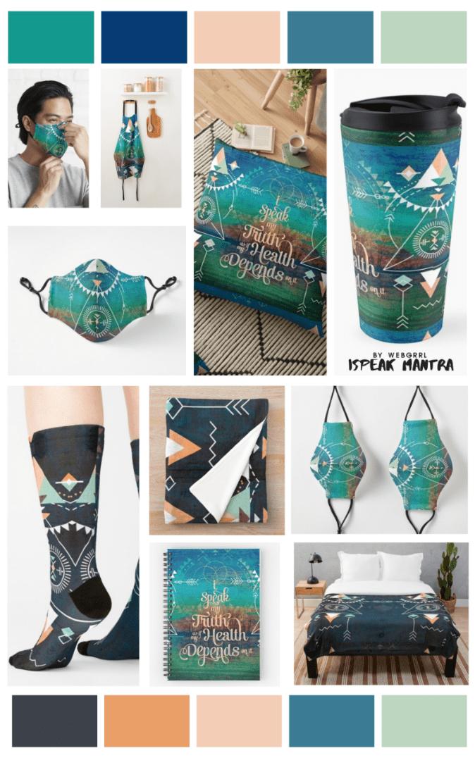 iSpeak AquaGreen-by-Webgrrl-Vertical-Collage (2)